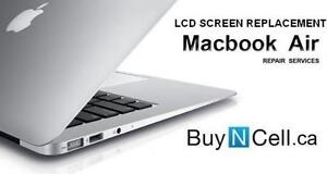 MACBOOK AIR LCD REPLACEMENT - 6 STORES + WARRANTY