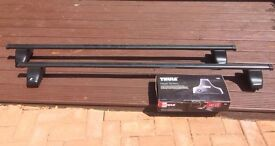 THULE ROOF BARS, FEET & RAPID SYSTEM FIXING KIT 1472 For FORD S-MAX 5Dr MPV 06-