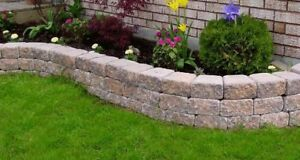 Landscaping / Garden Accent Stone / Retaining wall Limited left