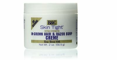 Razor Bump-creme (B&C Skin Tight In-Grown Hair and Razor Bump Creme Extra Strength, 2 Ounce)