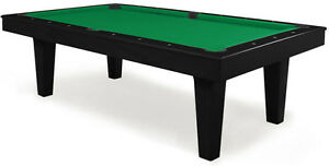 Table de billard moderne covertible en table a diner /pool table
