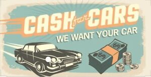 SELL YOUR CAR - CASH FOR CARS