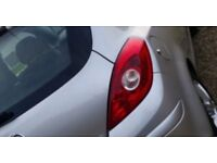 Corsa d front and rear lights