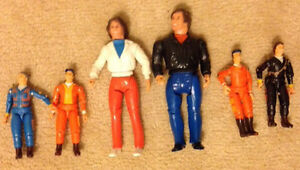 Vintage A-Team action figures