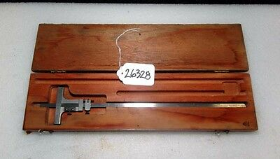 Starrett No. 448 Vernier Depth Gage 0-12 In.