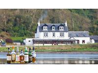 Hotel Assistant for West Loch Hotel, Near Loch Fyne,Tarbert, Argyll