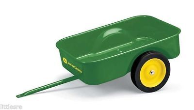 NEW JOHN DEERE PEDAL TRACTOR CART GREAT ADDITION TO YOUR PEDAL TRACTOR TBE15966