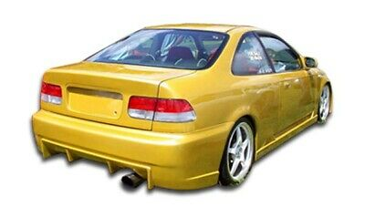 96-00 Honda Civic 2DR Buddy Duraflex Rear Body Kit Bumper!!! 101737 ()