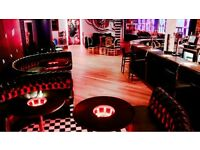 Part-Time Bar & Waiting Staff required for Electric Circus