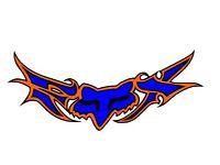 Fox racing decal