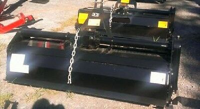 """NEW 5, 60"""" 3 pt POINT GARDEN ROTARY TILLER ROTOTILLER tractor fits kioti,holland"""