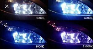 Lumens hid kit 9003/h4 bulbs 6000k