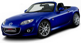 Mazda MX5 20th Anniversary. Limited edition no. 596 of 2000 full MAZDA Service History
