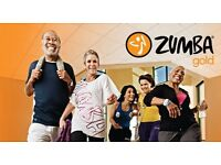 Zumba Gold classes