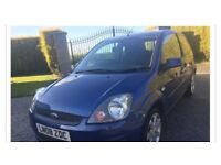 Ford Fiesta zetec blue special edition