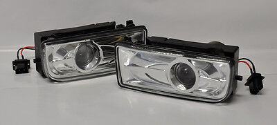 Clear Euro Projector Front Fog Lights FITS BMW E36 91-99 3 Series Pair RH LH 3 Series Projector Fog Lights