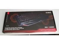 Zalman ZM-K400G Gaming Keyboard (British)