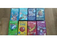 David walliams hard back books £3 each no offers or deals collection only gorleston