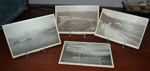 four nfld post cards   from the  40s