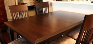 Solid Oak Dining-room table custom build