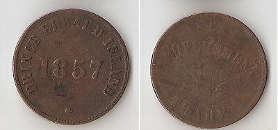 Canada, Prince Edward Island 1857 token