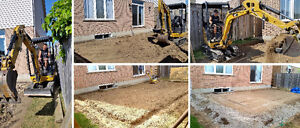 Driveway removal, excavating, grading, and demolition in K-W Kitchener / Waterloo Kitchener Area image 4