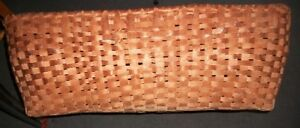 Vintage Hand Woven Basket Dated 1959-- Mint Condition