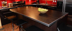 Kitchen countertops with double bowl sink Windsor Region Ontario image 2