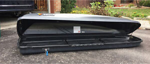 Thule rooftop cargo box