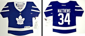 AUSTON MATTHEWS TORONTO MAPLE LEAFS 2-4T & INFANT REEBOK JERSEY