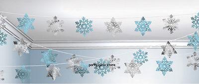 Weihnachten Schneeflocke Schnur Dekoration Girlande Wandbehang Decke Dekoration ()