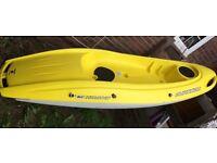 BIC sit on top kayak.