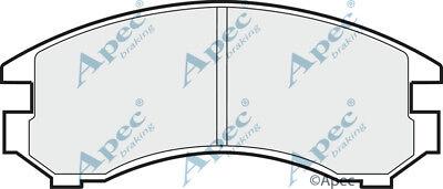PAD588 GENUINE APEC REAR BRAKE PADS FOR NISSAN SUNNY comprar usado  Enviando para Brazil