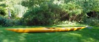 'Eski' fibreglass sea kayak