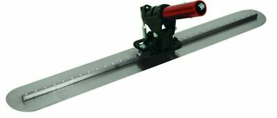 Round End Fresno Concrete Trowel Bf9 Bracket Carbon Steel 36in X 5in Blade Tool