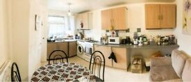 BIG DOUBLE ROOM 2 MIN AWAY FROM BOW ROAD STATION IN A 4 BEDROOM FLAT