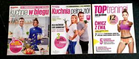 3x Ewa Chodakowska Kuchnia W Biegu Kuchnia Pełna Ziół I