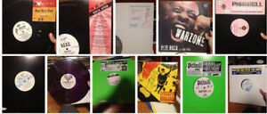 SICK COLLECTION OF HIP HOP/RAP VINYL RECORDS - BULK PRICING!!!