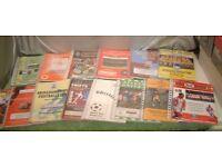 Box Full of 14 Football Programmes 1999-2000 Season mainly Southern Clubs