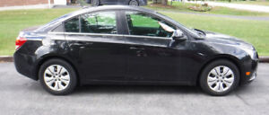 2014 Charcoal Grey/Black Chevy Cruze