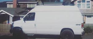 4x4 1994 high-top Ford E-150 Minivan, Van, Camper van V6 4.9L