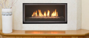 AFFORDABLE MODERN 45 CONTINENTAL DIRECT VENT GAS FIREPLACE