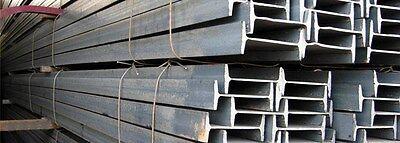 S4 X 7.7 Standard Steel I-beam - 90 Long