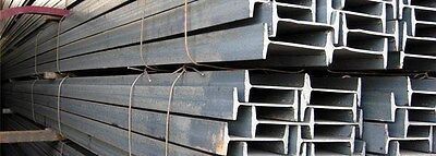 S4 X 7.7 Standard Steel I-beam - 72 Long