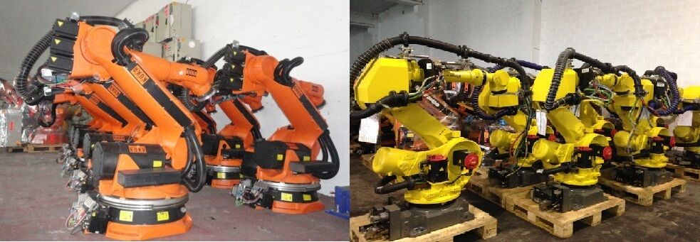 Eurobots Robot and Spare parts