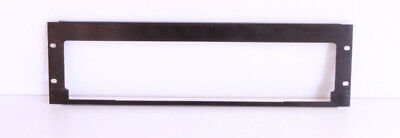 Middle Atlantic 3U Custom Shelf Faceplate For Sony SLVM11HF & Similar VCRs DVD..
