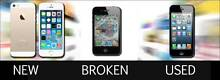 WANTED: WE BUY NEW, USED OR BROKEN IPHONES, CASH ON THE SPOT Melbourne Region Preview