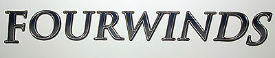 1 RV TRAILER CAMPER FOURWINDS LOGO GRAPHIC DECAL-1068