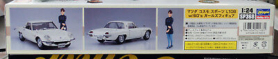 1968 Mazda Cosmo Sport L10b Mit Figur 1:24 Hasegawa 52168 Wieder 2018 Limitiert 1