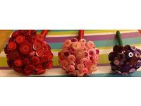 Bridesmaid /flower girl button posy